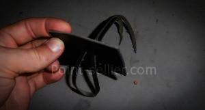 Comment fabriquer un système de fermeture pour sac à main avec un lacet en cuir