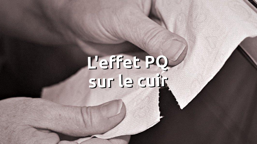 Eviter l'effet PQ sur le cuir, cuir qui se déchire - tithouan pour point-sellier.com