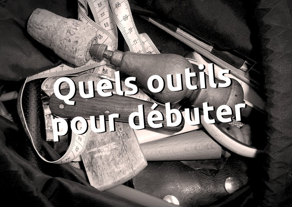 Acheter outils de base pour débuter la maroquinerie et le travail du cuir