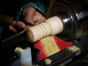 fabrication d'un outil pour lisser les tranches (brunissoir ou burnisher)