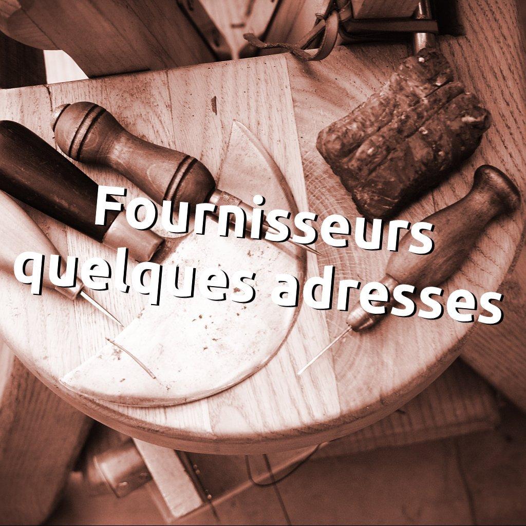 Liste fournisseurs cuir outils accessoires quincaillerie - Apprendre la maroquinerie et le travail du cuir