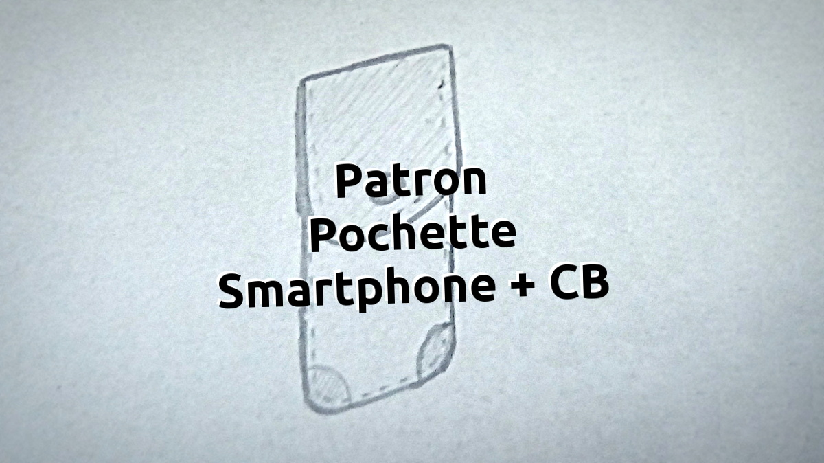 Patron gabarit pochette en cuir pour smartphone iphone apple - tithouan pour point-sellier.com