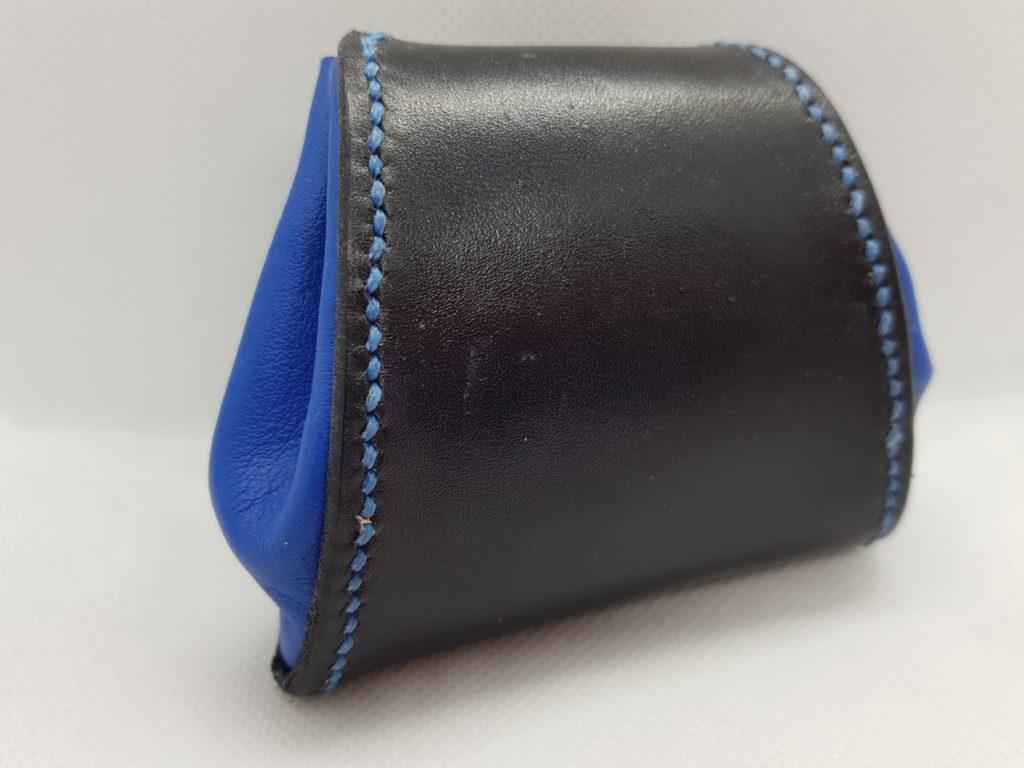 Porte monnaie trapeze en cuir Flore J. - point-sellier.com