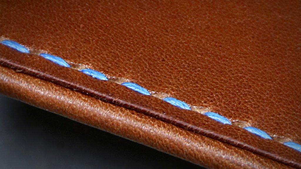 patron gabarit porte cartes cuir 4 poches tannage végétal - point-sellier.com - tithouan