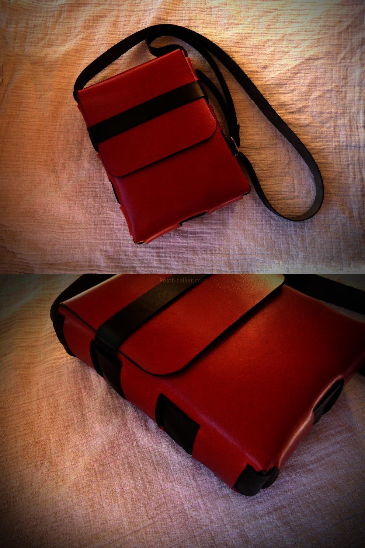 75fce96004 patron sac à main en cuir sans coutures, apprendre la maroquinerie