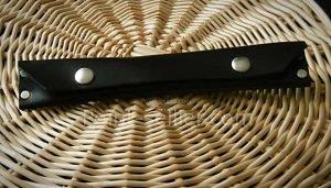 Patron trousse deux stylos cuir maroquinerie